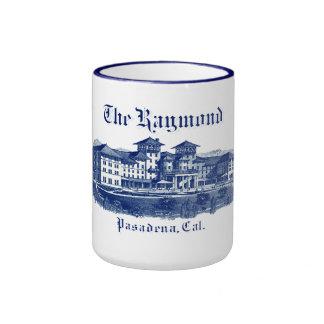 1901 Raymond Hotel Pasadena California Ringer Mug