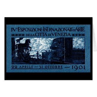 1901 Venice Art Exhibit Poster Card
