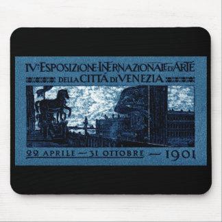 1901 Venice Art Exhibit Poster Mouse Pad