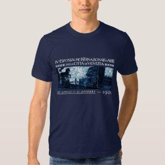 1901 Venice Art Exhibit Poster T Shirt