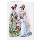 1901 Vintage Dresses Card