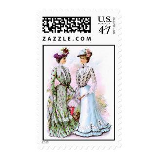 1901 Vintage Dresses Postage