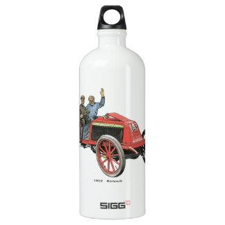 1902 Renault Race Car Aluminum Water Bottle