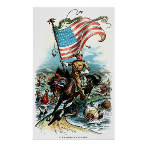 1902 Theodore Roosevelt Poster