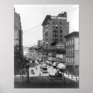 1903 4ta impresión del St St Louis Missouri Posters