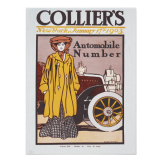 1903 Colliers automobile number Poster