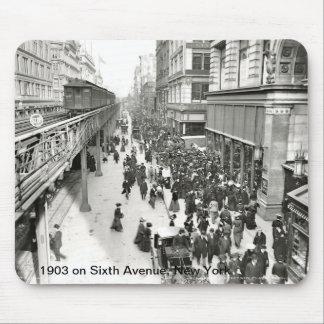 1903 en la sexta avenida, Nueva York Mousepad