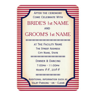 1904 Bully Pulpit (Wedding Collection) Card
