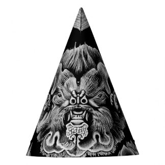 1904 Haeckel Chiroptera Party Hat