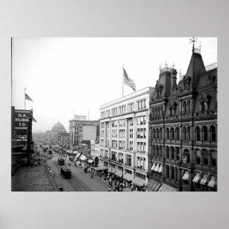 1904 impresión principal del búfalo NY del St. Póster