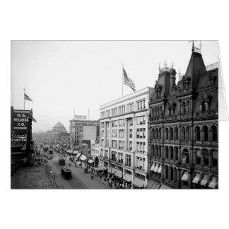 1904 Main St. Buffalo NY Greeting Card