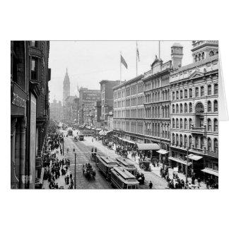 1904 Market St. Philadelphia Pa. Greeting Card