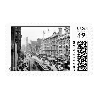 1904 Market St. Philadelphia Pa. Postage Stamp