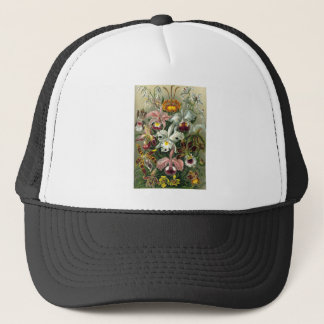 1904 Orchids Art Forms of Nature Print Trucker Hat