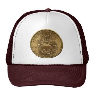 1904 Twenty Dollar Coin, back (tails) or $20 Hats