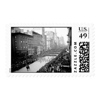 1905 5th Ave NYC Parade Postage Stamp