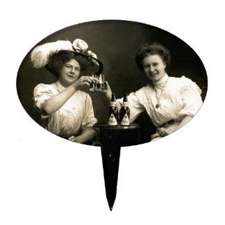 1905 Beer Drinking Girlfriends Cake Topper
