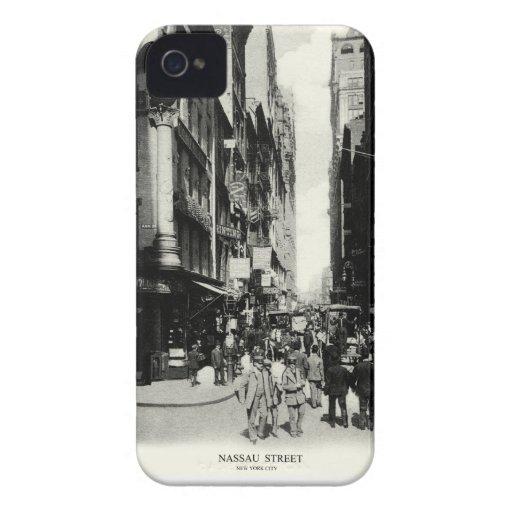 1905 calle de Nassau, New York City Case-Mate iPhone 4 Cárcasa