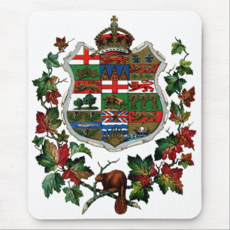 1905 Canadian Coat of Arms Mouse Pad