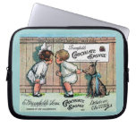 1905 Chocolate Candy Ad Laptop Sleeve