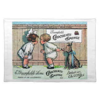 1905 Chocolate Candy Ad Place Mats