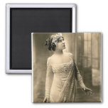 1905 Evening Gown Refrigerator Magnet