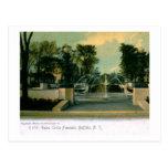 1905 Gales Circle, Buffalo, New York Vintage Post Card