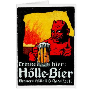 1905 German Beer Poster Card