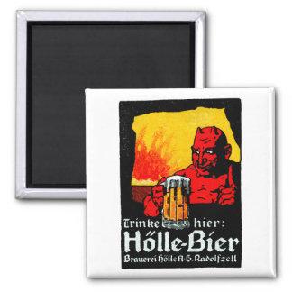 1905 German Beer Poster Magnets