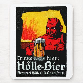 1905 German Beer Poster Mouse Pad