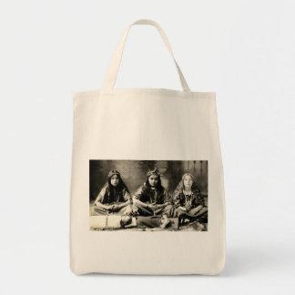 1905 Girls playing dress up Bags