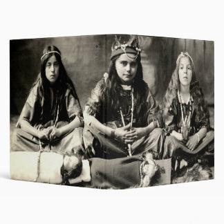 1905 Girls playing dress up Binders