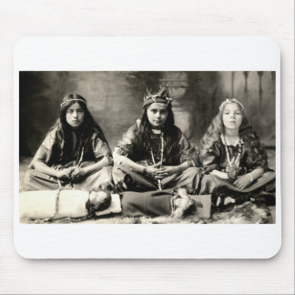 1905 Girls playing dress up Mouse Pad