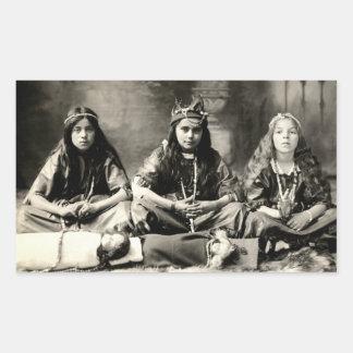 1905 Girls playing dress up Sticker