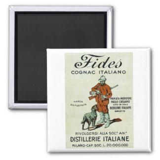 1905 Italian Cognac Fridge Magnets
