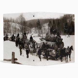 1905 Lumberjacks at work Binder