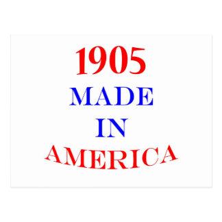 1905 Made in America Postcard