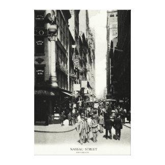 1905 Nassau Street, New York City Canvas Print
