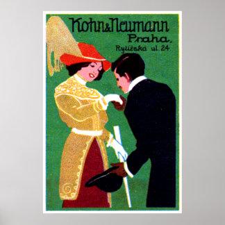 1905 Prague Fashion Poster