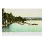 1905 punto de Bemus del vintage, lago Chautaqua, Impresiones