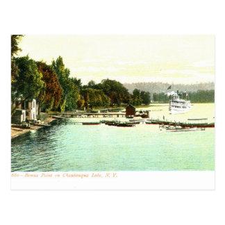 1905 punto de Bemus del vintage ZHR0031, lago Chau Tarjeta Postal