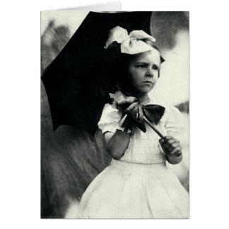 1905 Tough Little Girl Card