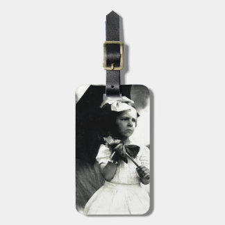 1905 Tough Little Girl Luggage Tags