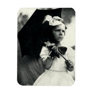 1905 Tough Little Girl Magnet