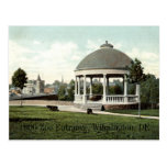 1906 entrada del parque zoológico, Wilmington, DE Postal