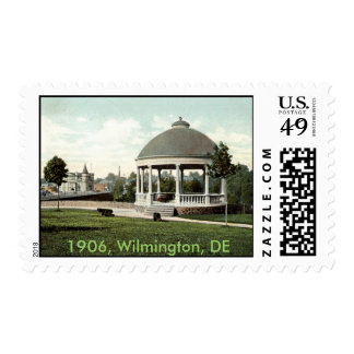 1906 Entrance to Zoo, Wilmington, DE Postage