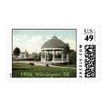 1906 Entrance to Zoo, Wilmington, DE Postage Stamp