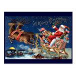 1906 Felices Navidad Tarjetas Postales