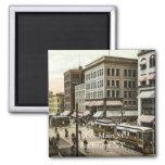1906, Main St., Rochester NY Magnets
