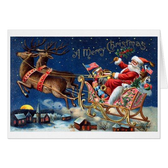 1906 Merry Christmas Card